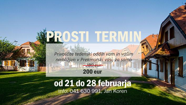 Posebna ponudba Moravske toplice