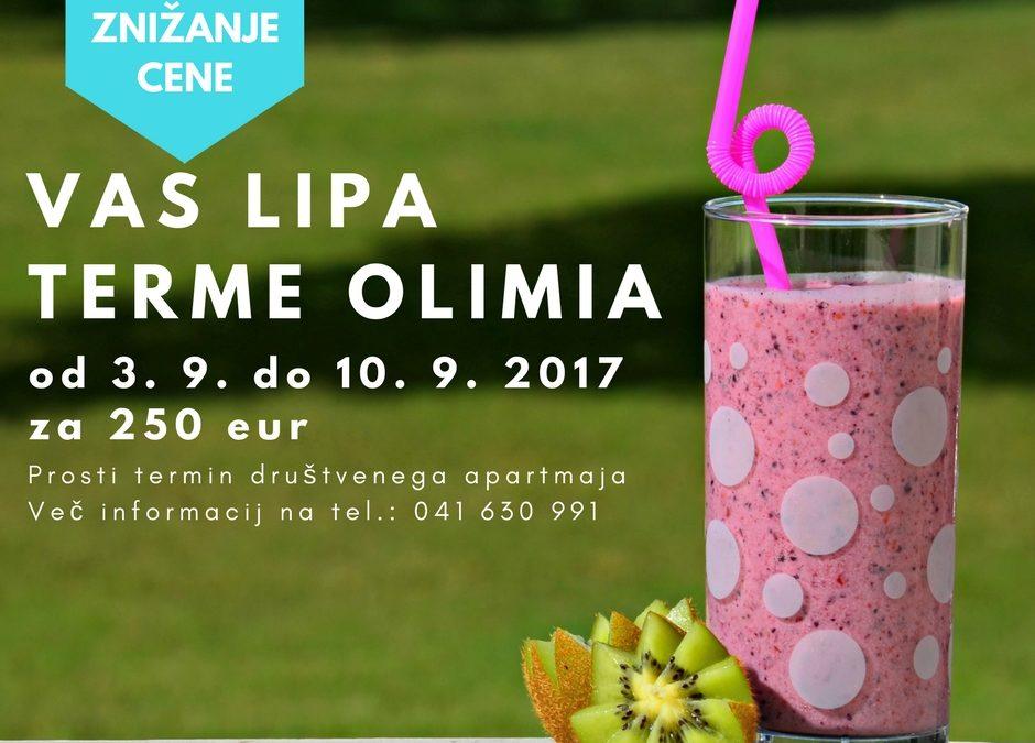Kopija izdelka Vas LipaTerme Olimia