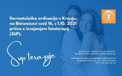 Fototerapije v Kranju